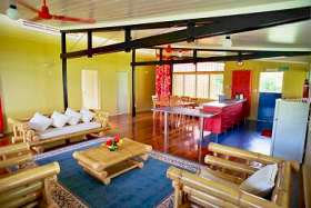 The Saweni Beach House Living Room